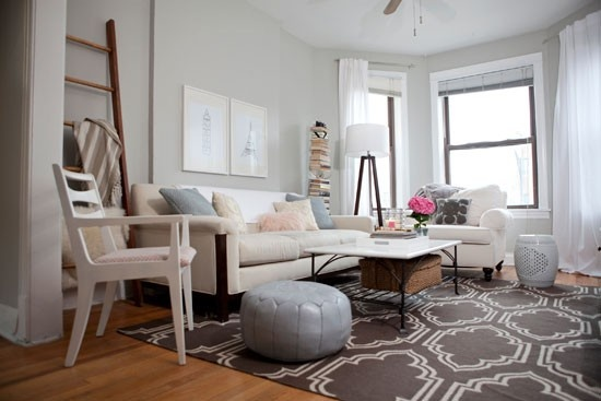 The 14 most popular paint colors they make a room look bigger - What colors make a room look bigger and brighter ...